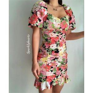 NWT Bloggers Favorite Zara Floral Dress